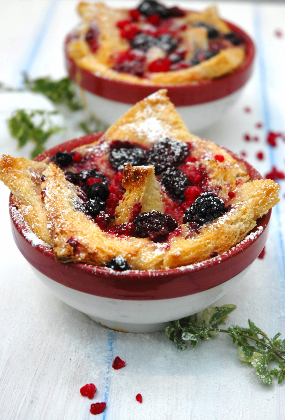 Bread Pudding with Berries in Winter? | Easy Cooking