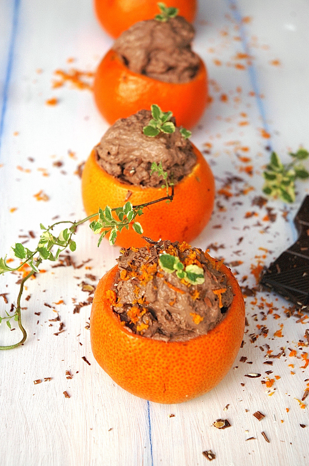 Easy Orange Chocolate Mousse