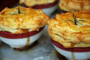 My Easy Chicken Pot Pies to celebrate the arrival of Autumn