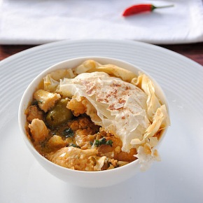 Scrumptious Moroccan Chicken Pie