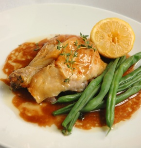 Lemon and Thyme Roast Chicken on RSG