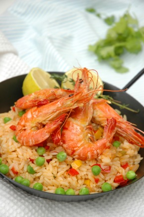Oven Baked Prawn Risotto on RSG